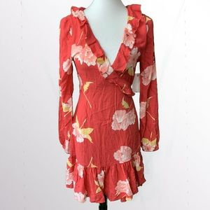 NWT Billabong Wrap Dress Medium $55